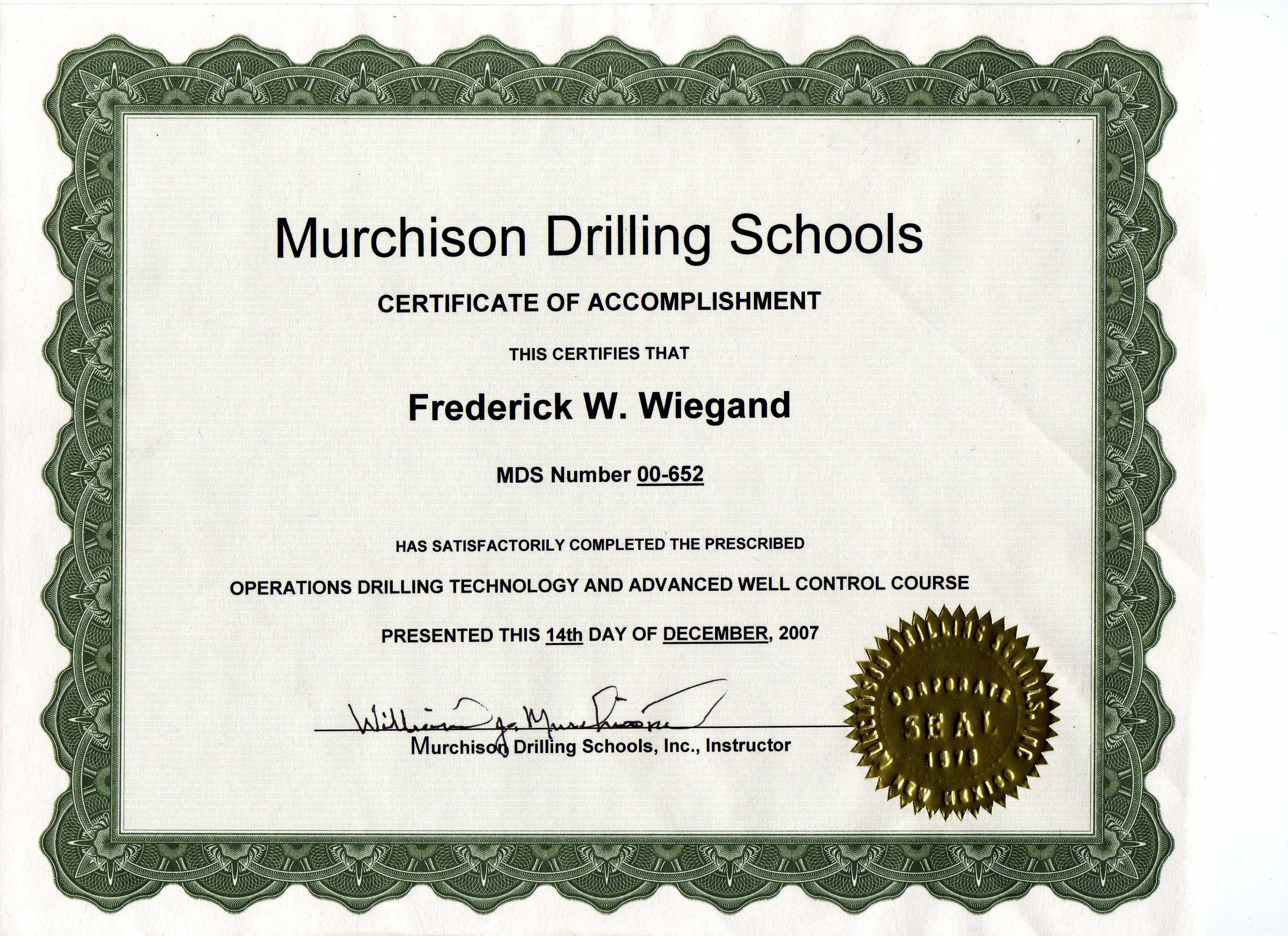 MurchisonDrillingSchoolscompletioncertificate14Dec07.JPG